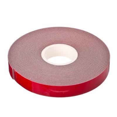 Скотч 3М, двухсторонний, 10мм*5м, красный