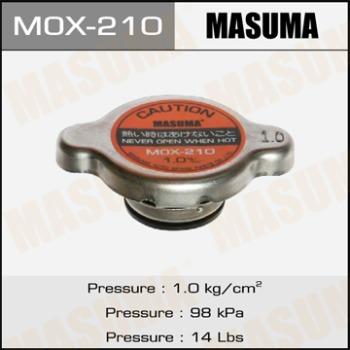 Крышка радиатора MASUMA, MОХ-210  (R183) 1kg/cm2, 1шт, Япония