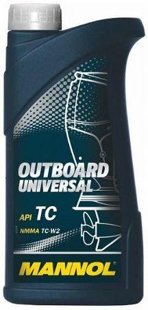 МАNNOL 2T Outboard Universal Minera TC-W2, для 2-хтактных, минеральное,1л, Германия