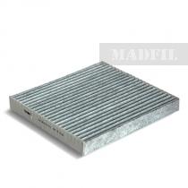 Madfil, фильтр салонный, AC-401С/DD10-61-P11 угольный, ф/с, Madfil