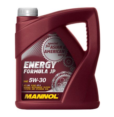 Mannol, 5w-30 Energy Formula JP SN,  синтетика, 4л, EU