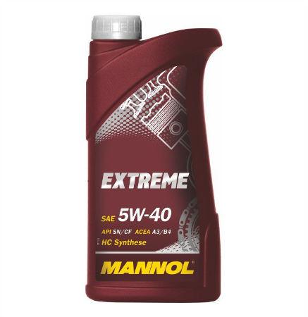 Mannol, 5w-40 Extreme SL, синтетика, 1л, EU