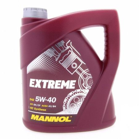 Mannol, 5w-40 Extreme SL, синтетика, 4л, EU