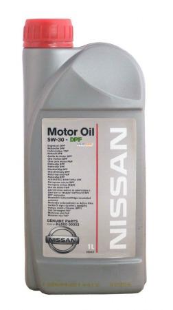 NISSAN  MOTOR OIL SAE  5W30 API SL/CF (A5/B5) KE900-99933, синтетика, 1л, EU