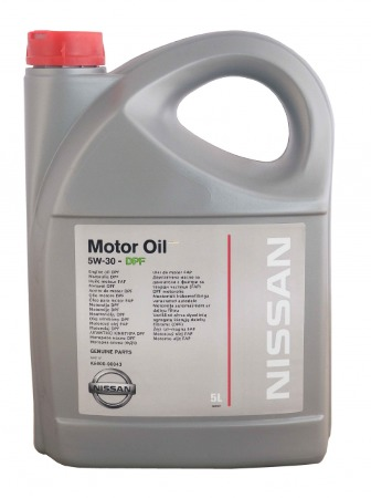 NISSAN  MOTOR OIL SAE  5W30 API SL/CF (A5/B5) KE900-99943, синтетика, 5л, EU