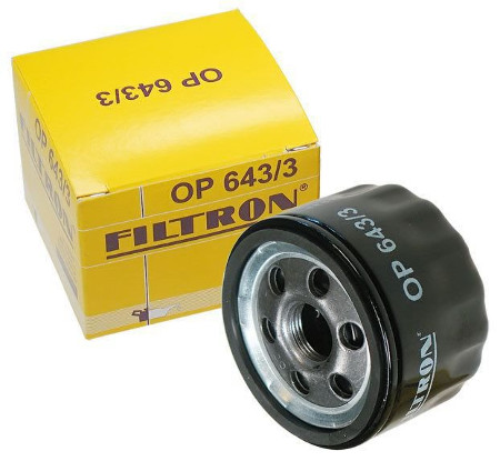 FILTRON, Фильтр масляный, OP643/3 (W75/3), Германия