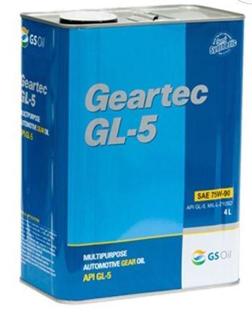Kixx Geartec GL-5 80W90 , трансмиссонное, минеральное, 4л, Корея