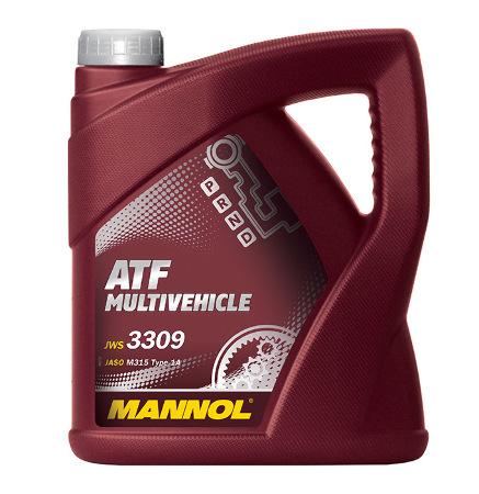 Mannol, Multivehicle ATF, трансмиссионная жидкость , 4л