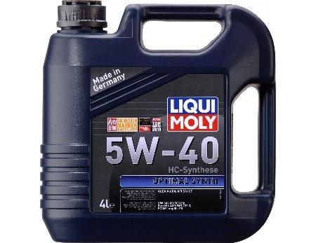 LIQUI MOLY Optimal Synth, 5W/40, синтетика, 4л, Германия
