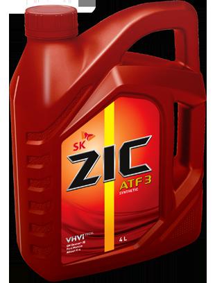 ZIC ATF III, трансмиссионное масло, полусинтетика, 4л, Корея