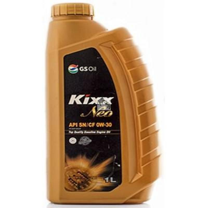 Kixx G1, 0W-30 SN (NEO), моторное масло,  синтетика, 1л, Корея