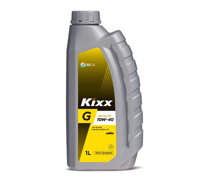 Kixx G SN, 10W40,  полусинтетика, 1л, Корея