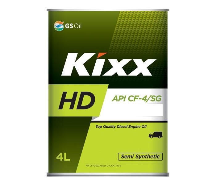 Kixx HD, 5W30, CF-4, DIESEL, (DYNAMIC), полусинтетика, 20л, Корея
