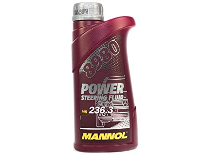 Mannol, жидкость для ГУР, ГУР PSF 8980 MB 236.3, 2449, 0,5л
