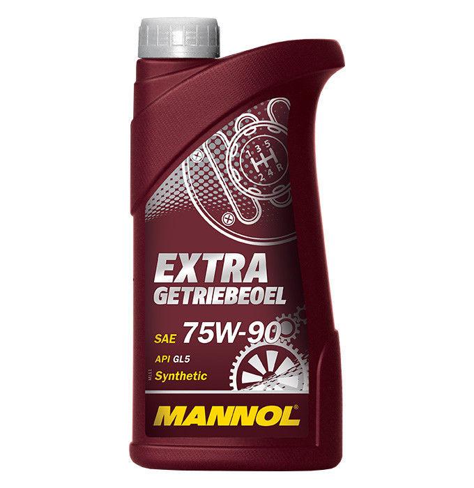 Mannol, Extra Getriebeoe, 75w-90 GL-4/GL-5 LS, трансмиссионное масло, синтетика, 1л, EU