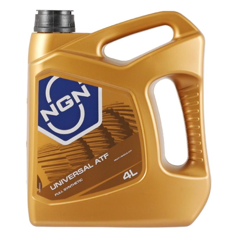 NGN, ATF UNIVERSAL , трансмиссионное масло для АКПП, минеральное, 4л, Нидерланды
