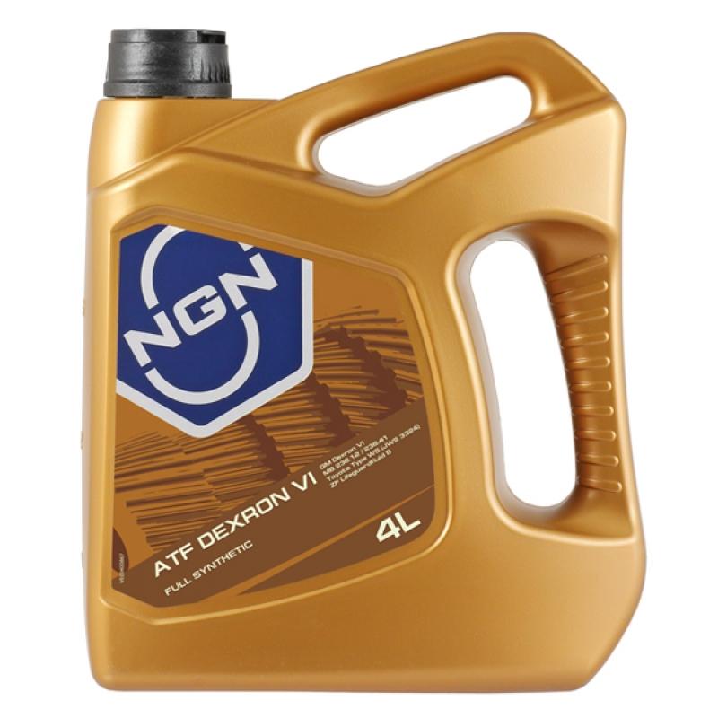 NGN, ATF DEXRON VI , трансмиссионное масло для АКПП, полусинтетика, 4л, Нидерланды