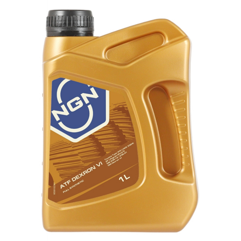 NGN, ATF DEXRON VI , трансмиссионное масло для АКПП, полусинтетика, 1л, Нидерланды