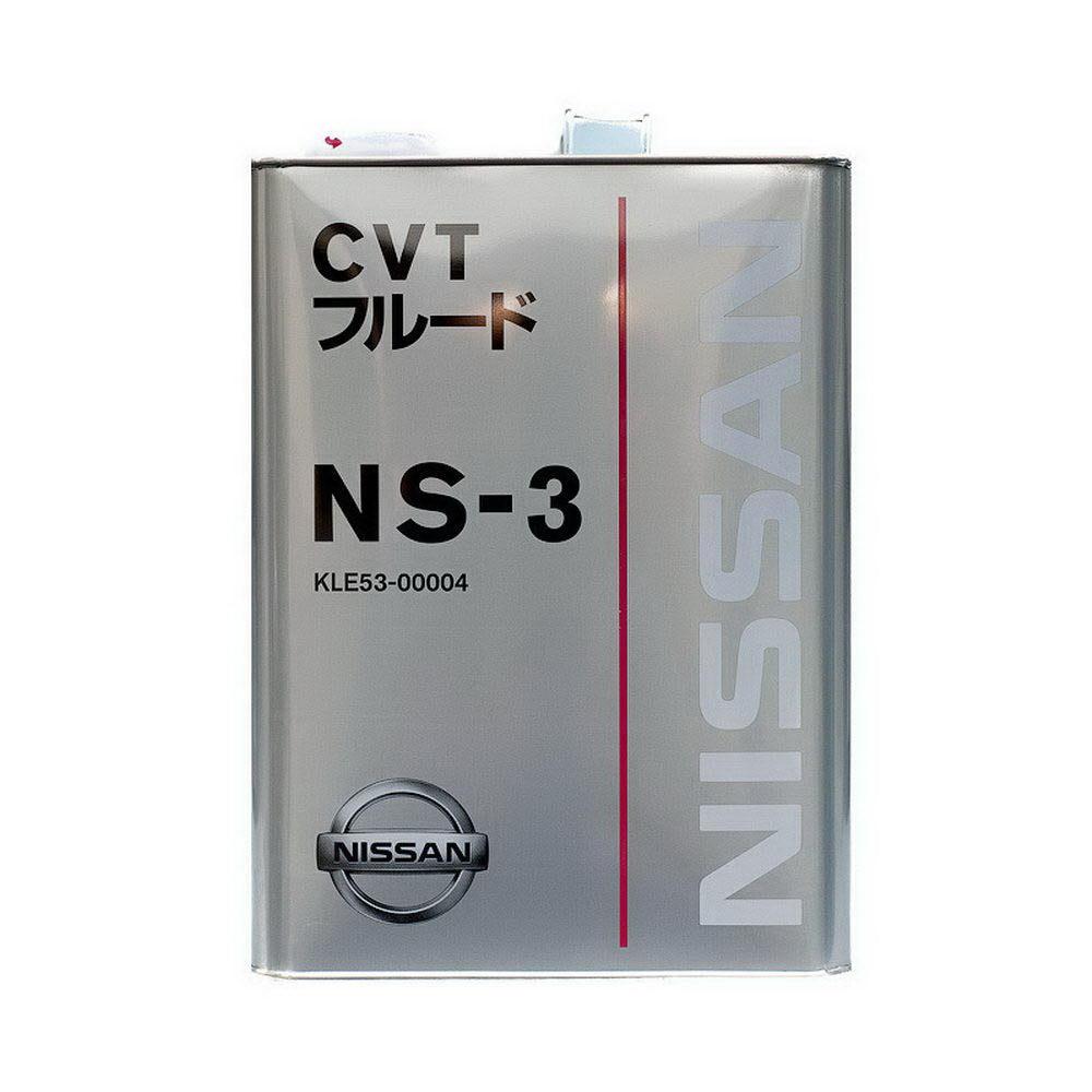 Nissan СVT NS-3, масло для вариаторов, синтетика, 4л, Япония