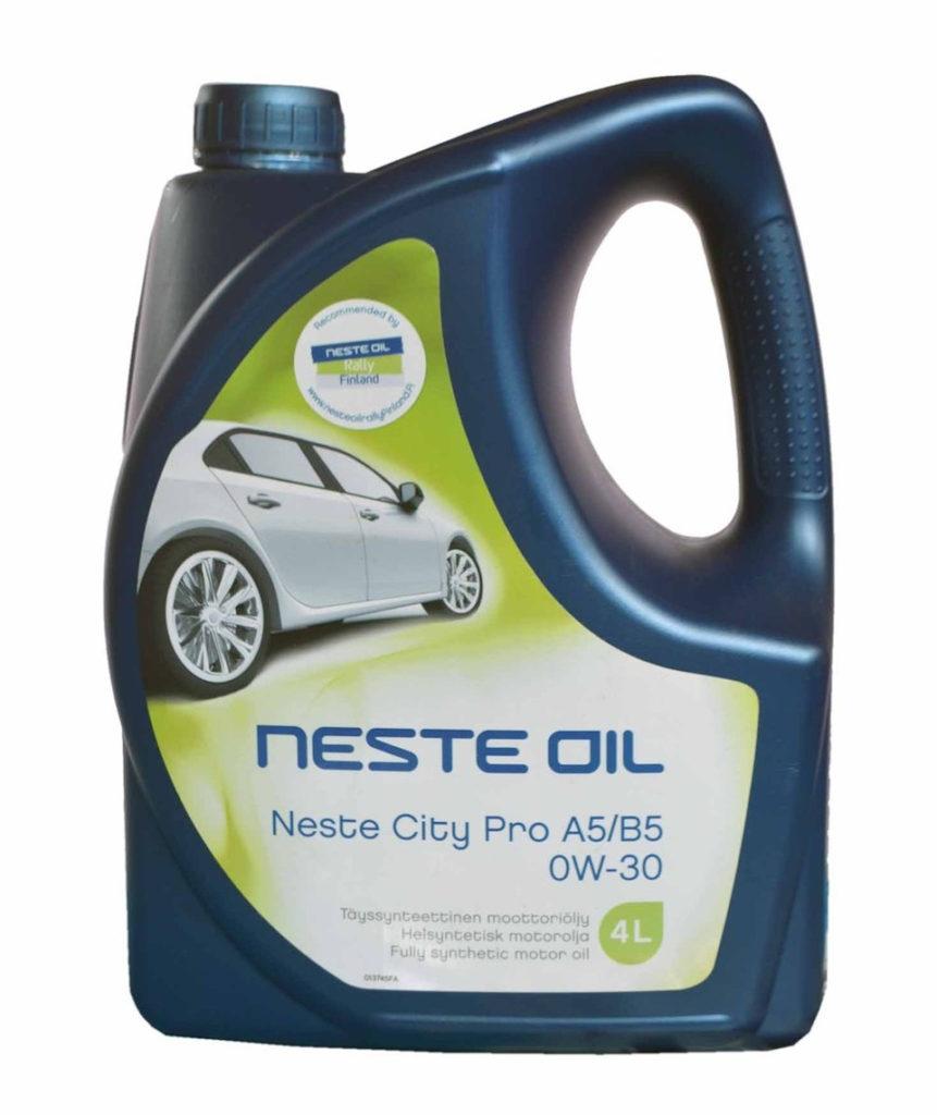 Neste, City Pro, 0W-30 SN/CF, синтетика, 4л, Финляндия