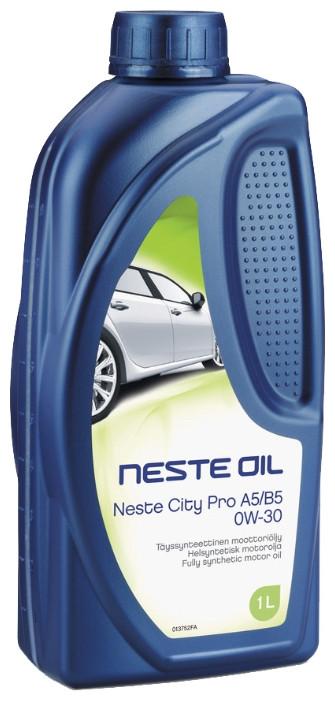 Neste, City Pro, 0W-30 SN/CF, синтетика, 1л, Финляндия