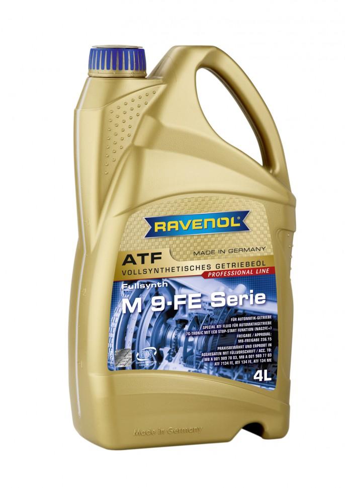 Ravenol ATF M 9-Serie (MB236.12, MB236.10), масло для АКПП, 4л, Германия