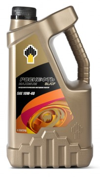 Роснефть Мagnum Ultratec, 10w40 SL/CF, полусинтетика, 1л, Россия