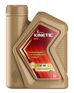 Роснефть Kinetic MT, 75w90 GL-4, трансмиссионное, полусинтетика, 1л, Россия