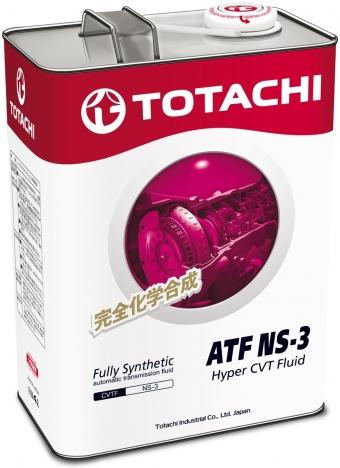 TOTACHI ATF NS-3 CVT, масло для вариаторов, синтетика, 4л, Япония