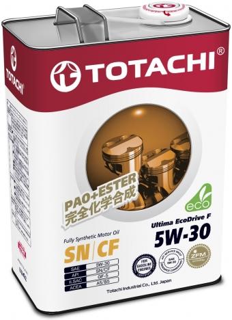 TOTACHI Ultima EcoDrive F, 5W-30, SN/CF, синтетика, 4л, Япония