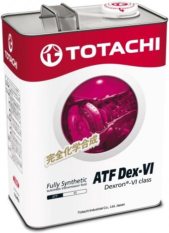 TOTACHI ATF Диксрон IV, масло для АКПП, синтетика,4л, Япония