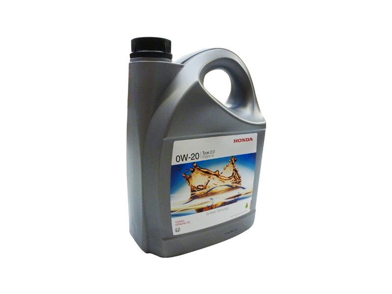 Honda TYPE 2.0 0W20, API SN, моторное масло,  4л, Япония
