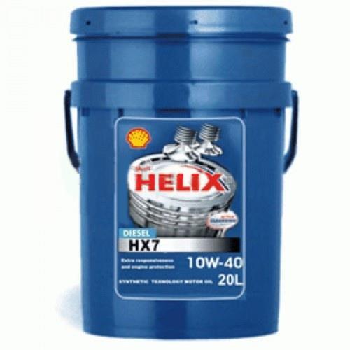 SHELL HELIX HX7, 10w-40, SM/CF, полусинтетика, л,(Разливное) Финляндия