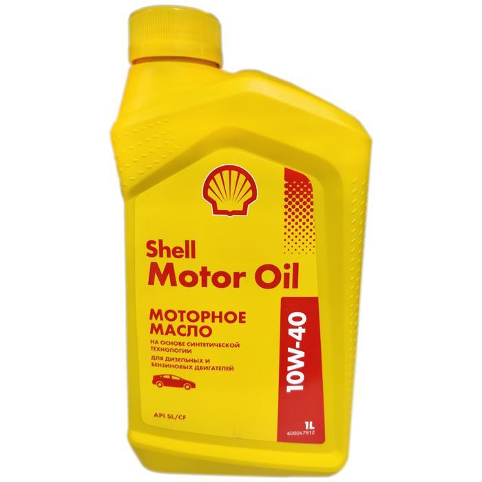 SHELL Motor Oil, 10w-40 SL/CF, полусинтетика, 1л, Финляндия
