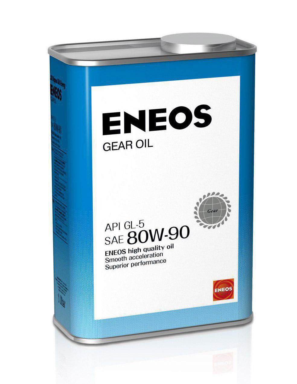 ЕNEOS GEAR, 75w-90, GL-4, трансмиссионное масло, полусинтетика, 1л, Япония