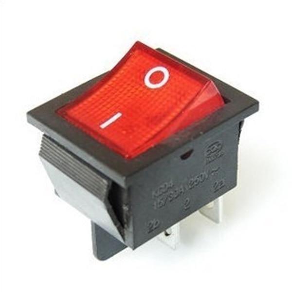 Переключатель квадрат 4-х контактный