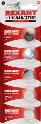 Rexant 3V, 80 mAh, литиевая батарейка, в блистере 1шт