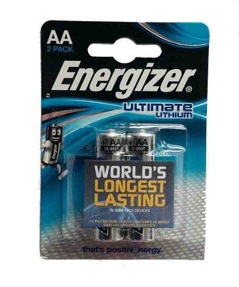 Energizer Ultimate Lithium, AA/L91 (DFB2), батарейка (пальчиковая), 1шт, Сингапур