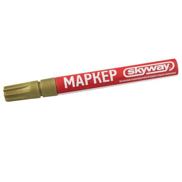 SKYWAY, Маркер эмалевый Золотой, S03501007