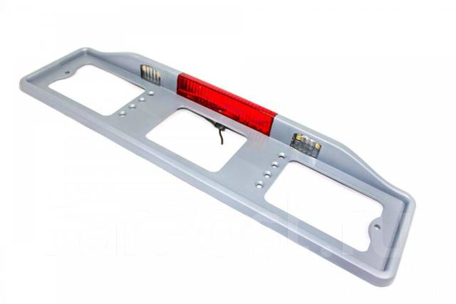 Рамка подсветка с автостопом БЕЛАЯ ( 005)