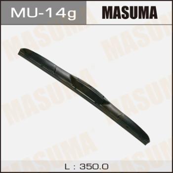 Masuma, Дворник гибридный крюк 14*/350мл, Япония