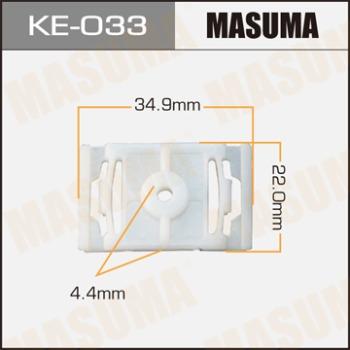 Masuma, клипса KЕ-033, (1шт), Европа