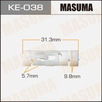 Masuma, клипса KЕ-038, (1шт), Европа