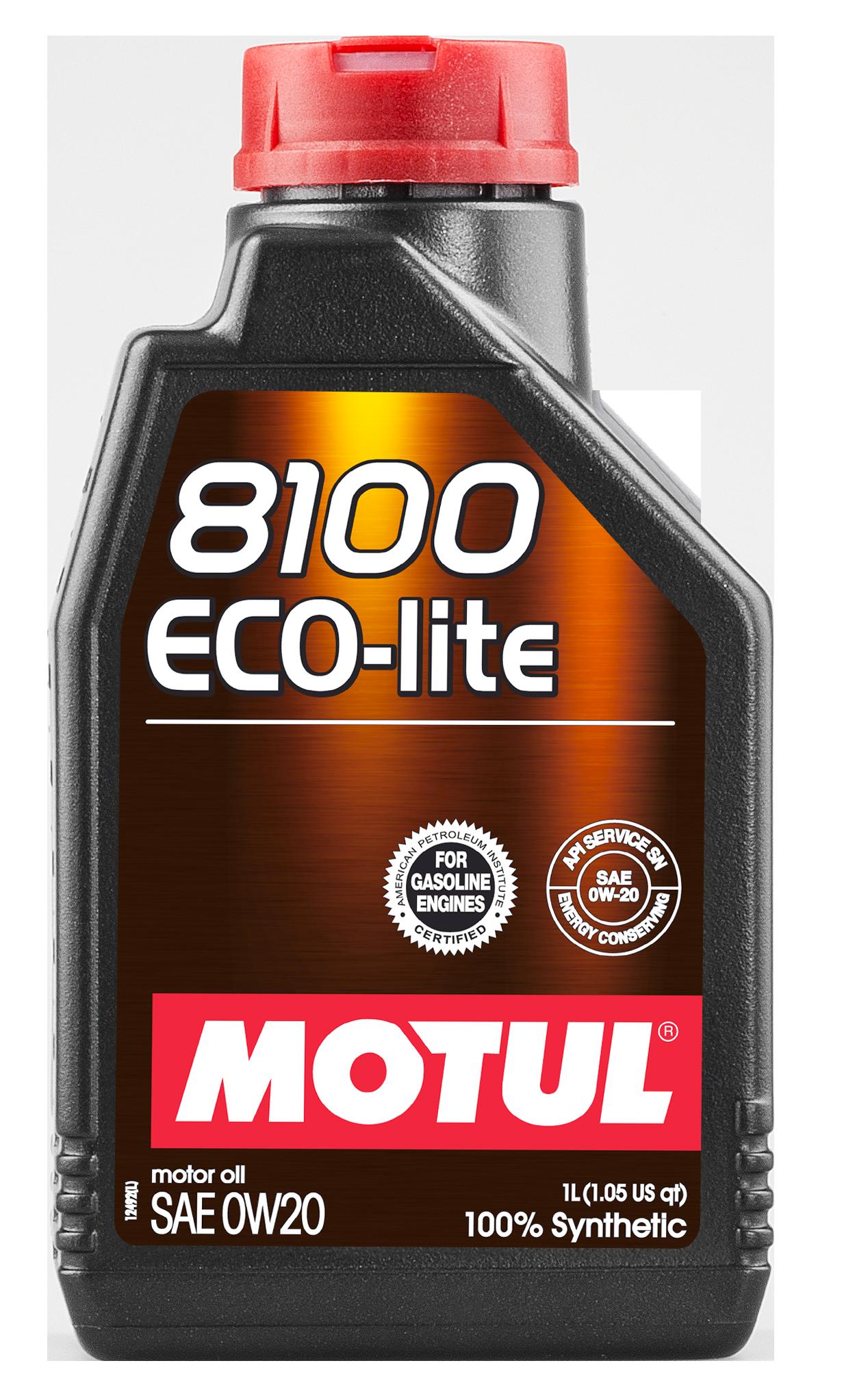 МOTUL 8100 Eco-Lite, 0w-20, моторное масло,  синтетика, 1л, Франция