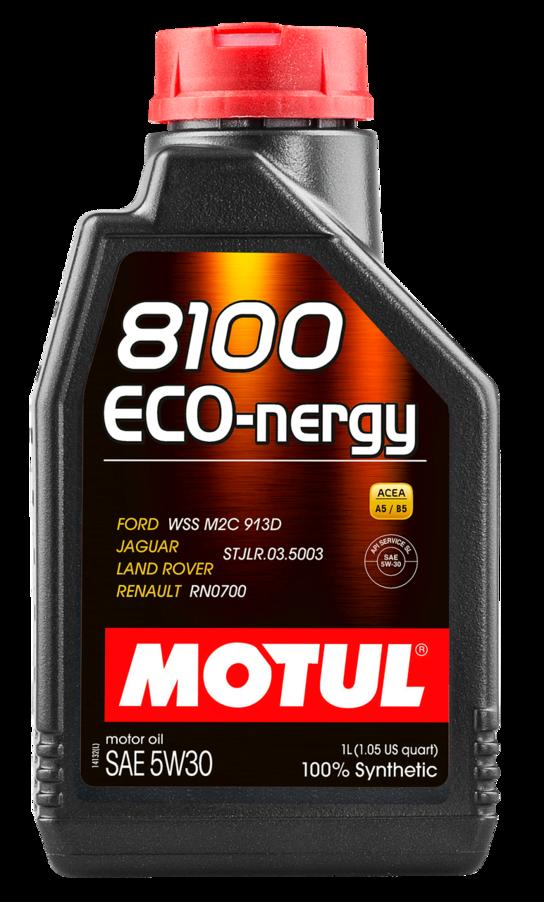 МOTUL 8100 Eco-Nergy, 5w-30,  синтетика,1л, Франция
