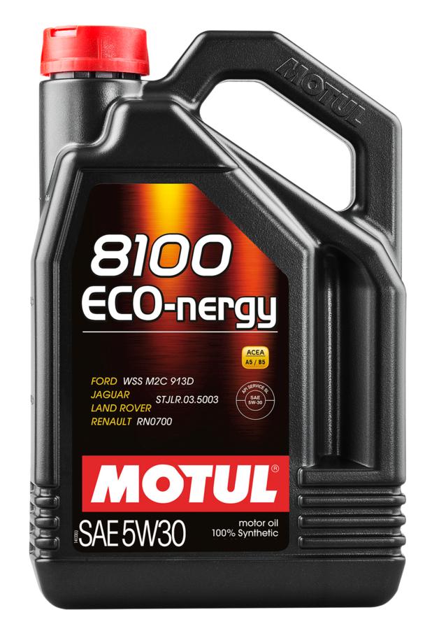 МOTUL 8100 Eco-Nergy ,5w-30,  синтетика, 4л, Франция