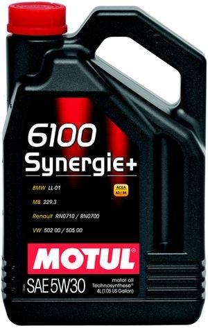 МOTUL 6100 Synergie+, 5w-30,  1л, Франция