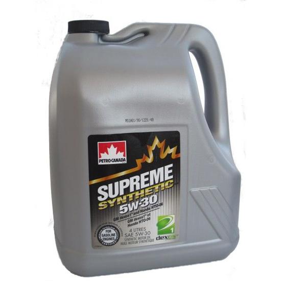 Petro-Canada SUPREME 5W30, син, 4л, Канада