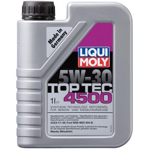 LIQUI MOLY TopTec 4500, HC, 5W/30,  синтетика, 1л, Германия