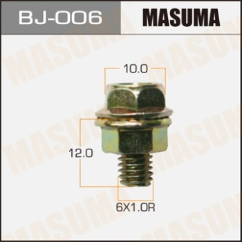 Masuma (BJ-006) болт с гайкой 6*12*1.0